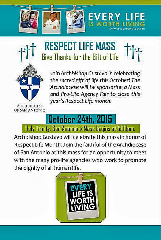 Respect Life Mass Holy Trinity new